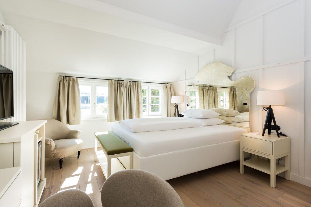Schlafzimmer, Hotelroom, Das Kranzbach