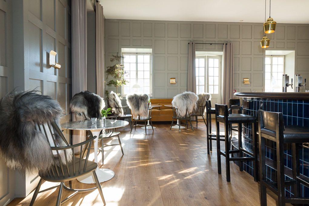 Lounge im Wellnesshotel Das Kranzbach