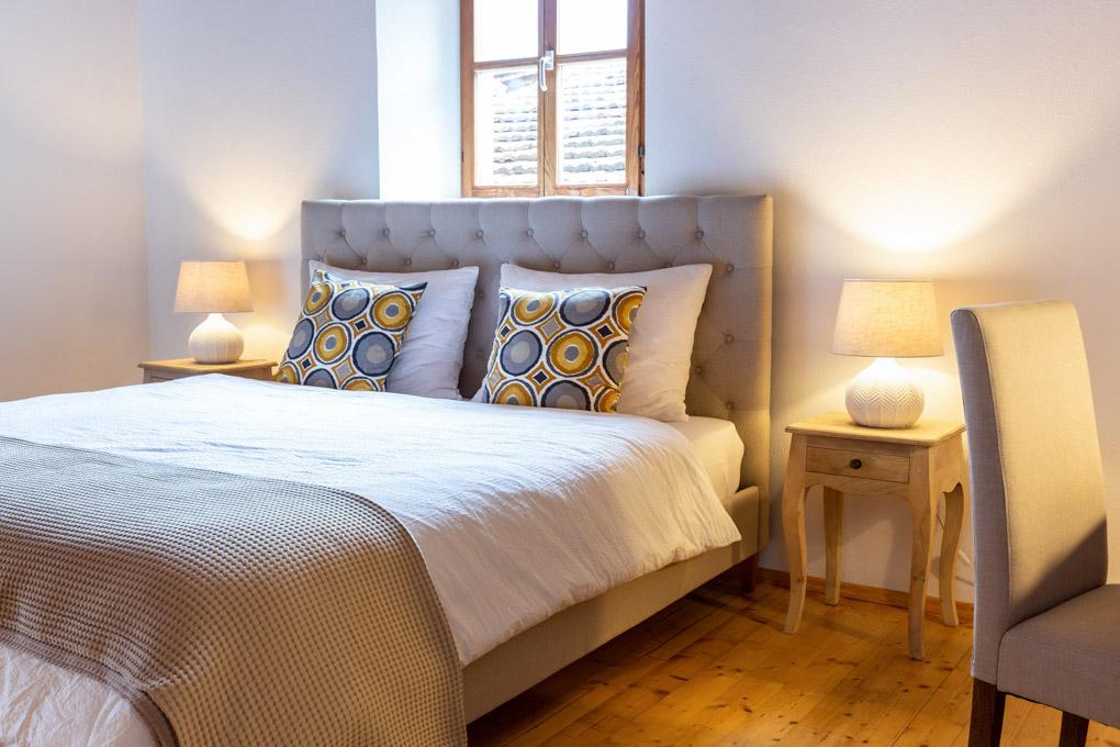 Schlafzimmer Zafig Historic Homes Hotelfotografie Anneliese Kompatscher